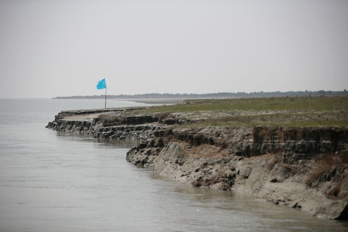 Bhasan Char: Die Insel ist erst in den vergangenen zwanzig Jahren entstanden