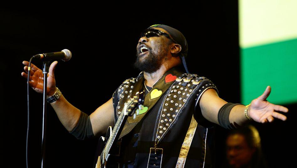 Reggae-Künstler Toots Hibbert