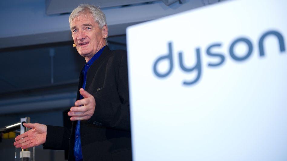 Der britische Unternehmer James Dyson