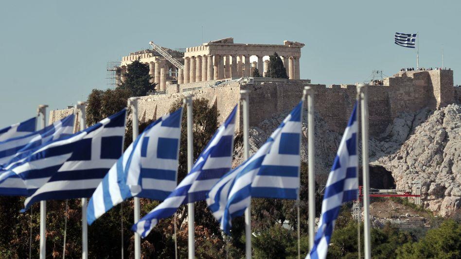 Akropolis in Athen: Am Rahmenprogramm für die Berliner Gäste wird noch gefeilt