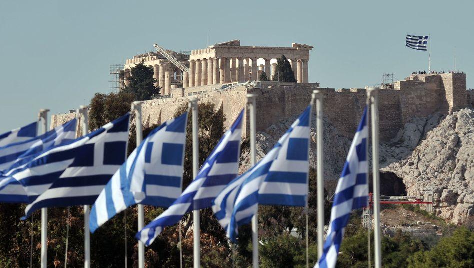 Akropolis in Athen: Griechenland kehrt auf die Kapitalmärkte zurück