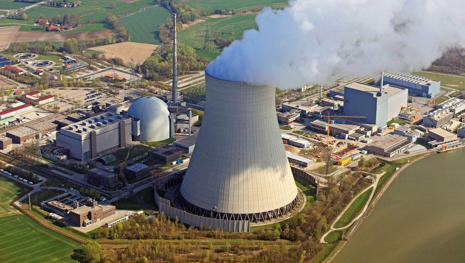 Kernkraftwerk Isar 2 in Niederbayern (Archiv):
