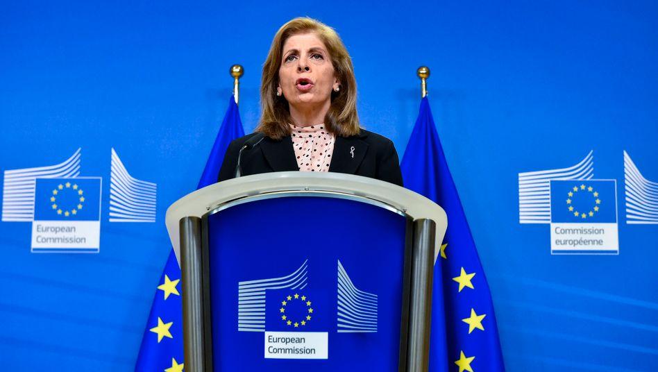 EU-Gesundheitskommissarin Stella Kyriakides: »Das ist für die EU inakzeptabel«