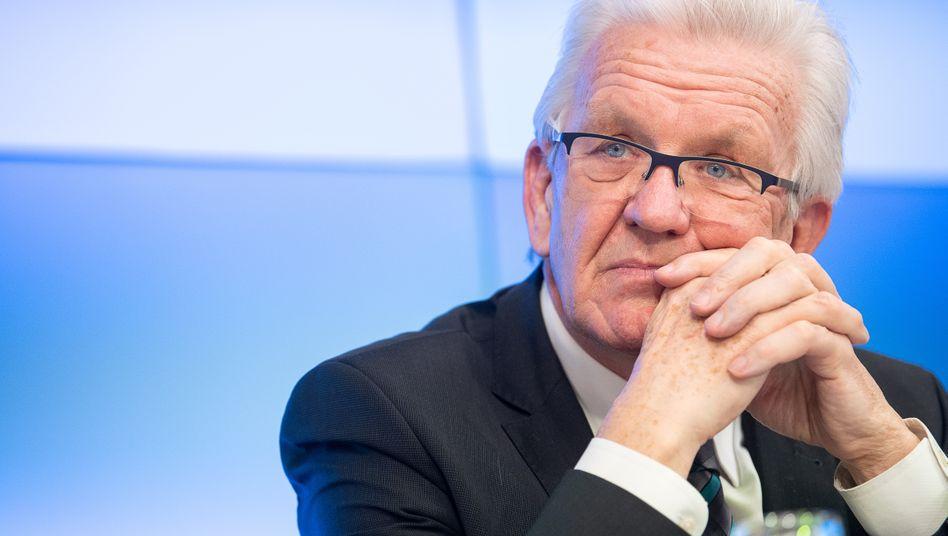 Baden-Württembergs Ministerpräsident Winfried Kretschmann präferiert offenbar eine Fortsetzung der Regierung mit der CDU