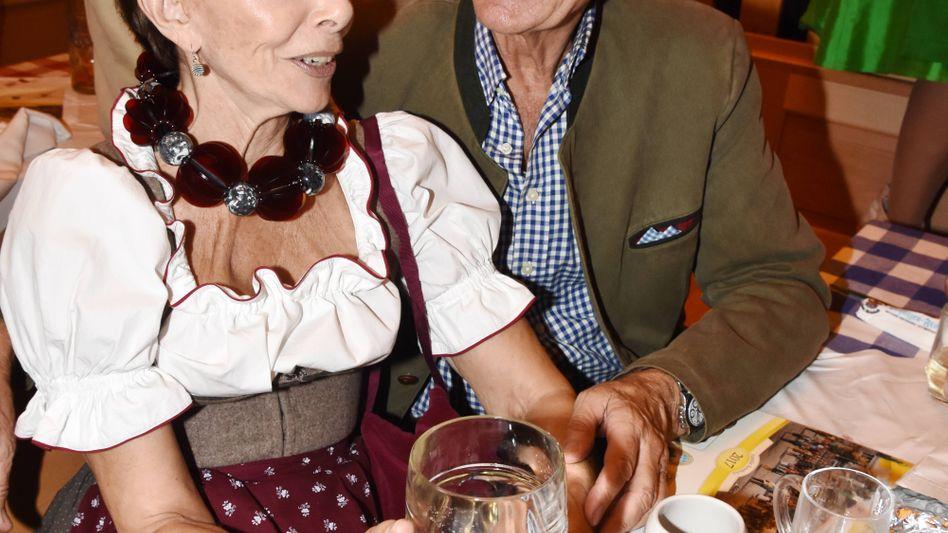 Monika Peitsch und ihr Mann Sven Hansen Höchstädt