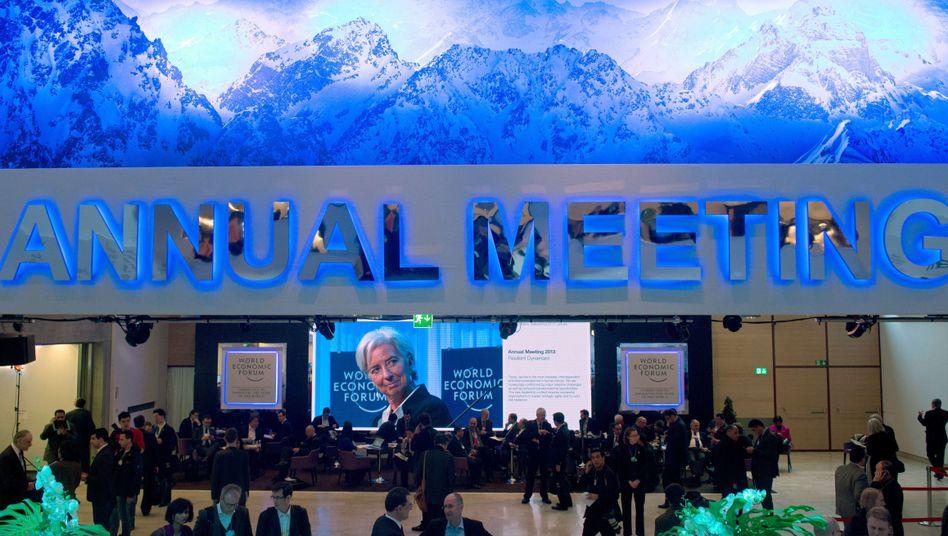 Treffen in Davos: Rettung vor dem Absturz