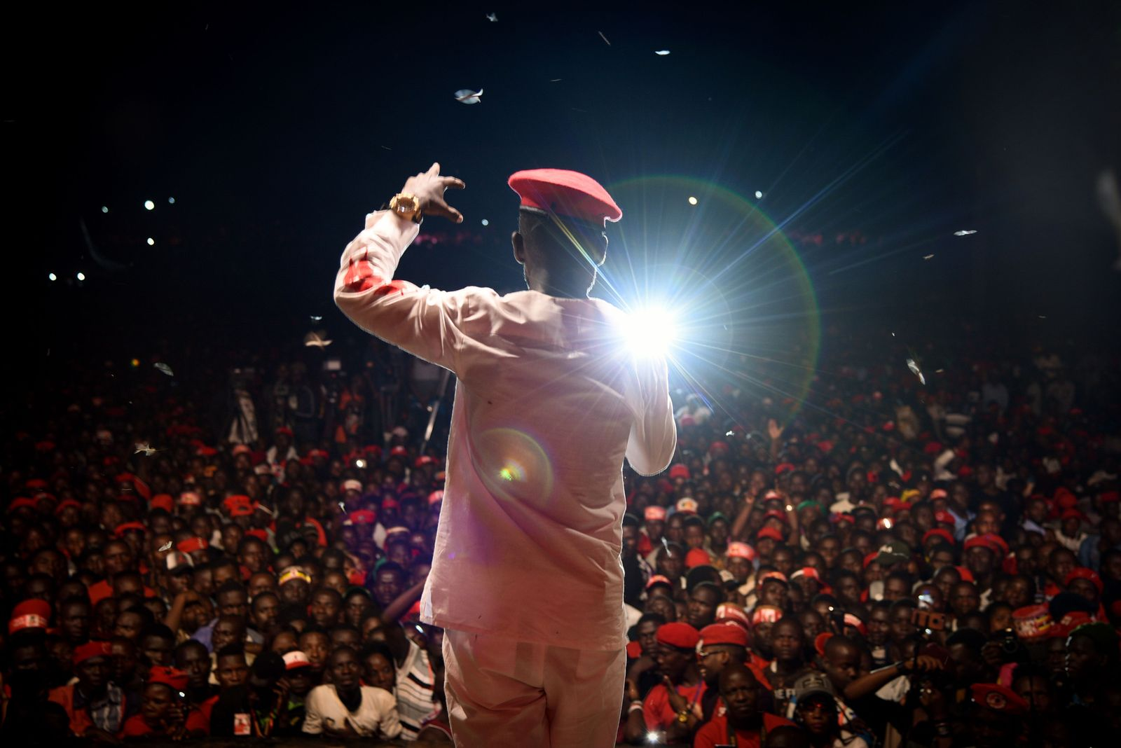 TOPSHOT-CORRECTION-UGANDA-ART-MUSIC-POLITICS