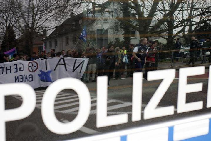 Nato-Proteste in Baden-Baden: Die Polizei hatte alles unter Kontrolle