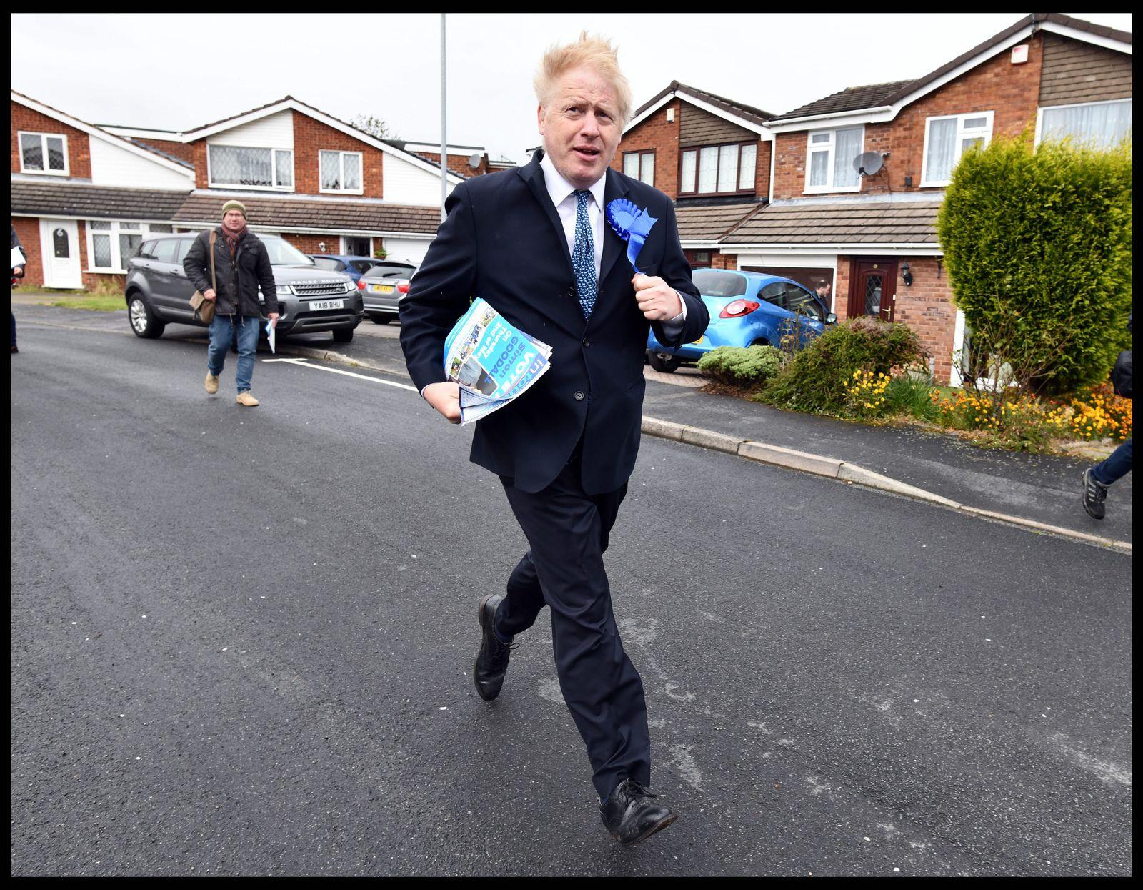 EINMALIGE VERWENDUNG SPIEGEL 23/19 S.82 Boris Johnson
