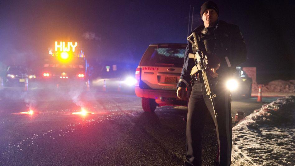 Einsatz auf dem Highway 395 in Oregon: Besetzer fetsgenommen