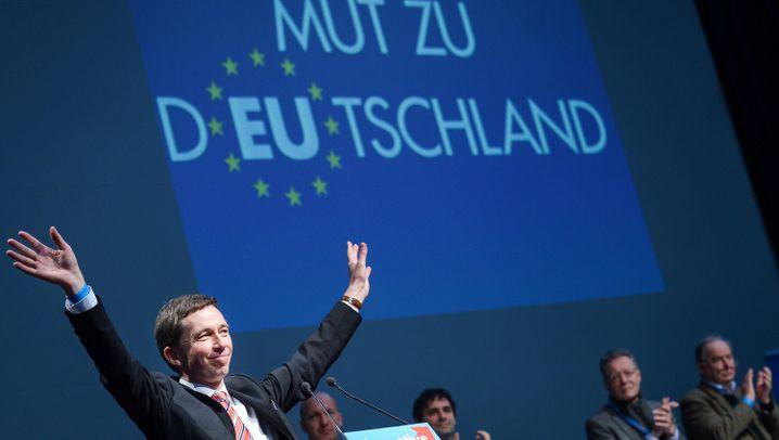 """Parteitag in Aschaffenburg: """"AfD-David"""" gegen """"Altparteien-Goliath"""""""