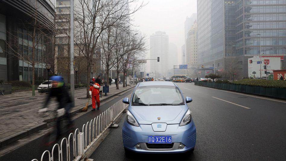 Ein chinesisches E-Auto.