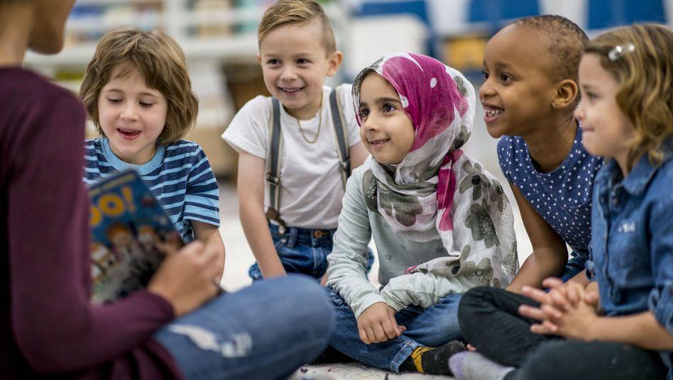 Kita-Kinder unterschiedlicher Herkunft: Kaum Spielzeug aus anderen Kulturen