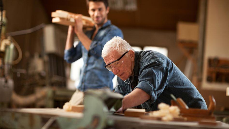 Älterer Arbeitnehmer