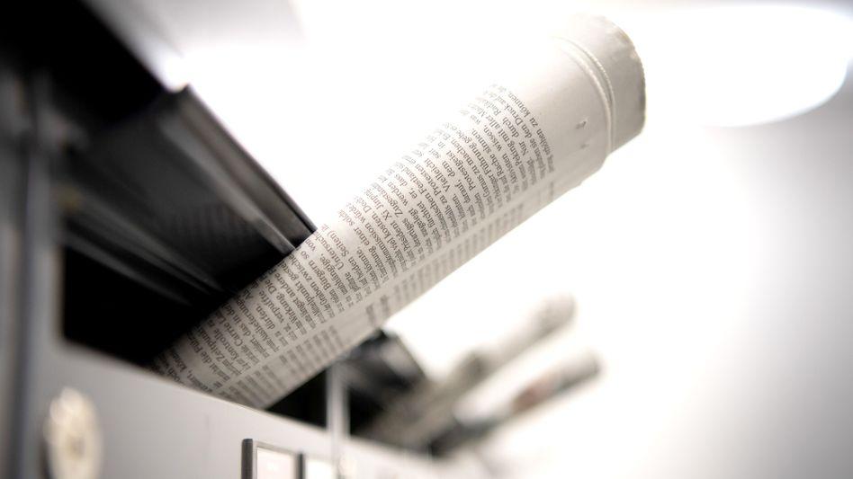 10 Millionen Tageszeitungen werden in Deutschland täglich ausgeliefert