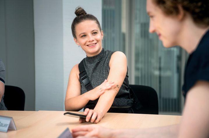 Muss erst mal ihren Vater fragen: Jasna Fritzi Bauer als Neu-Ermittlerin