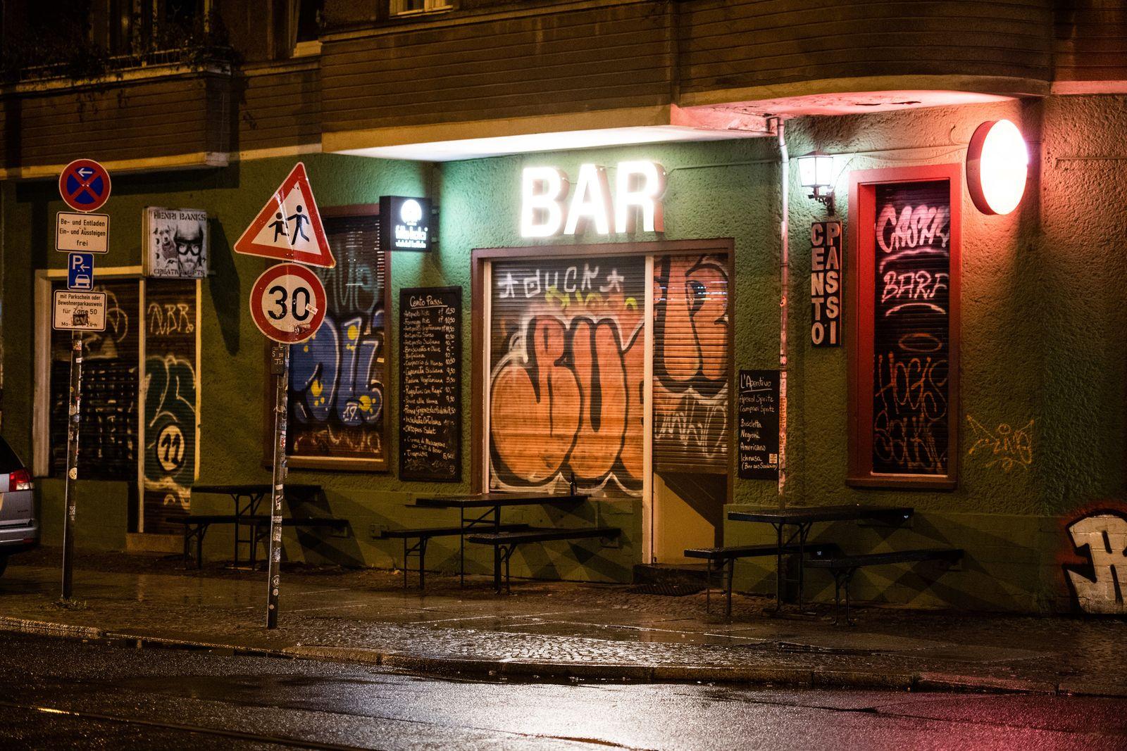 Sperrstunde in Berlin