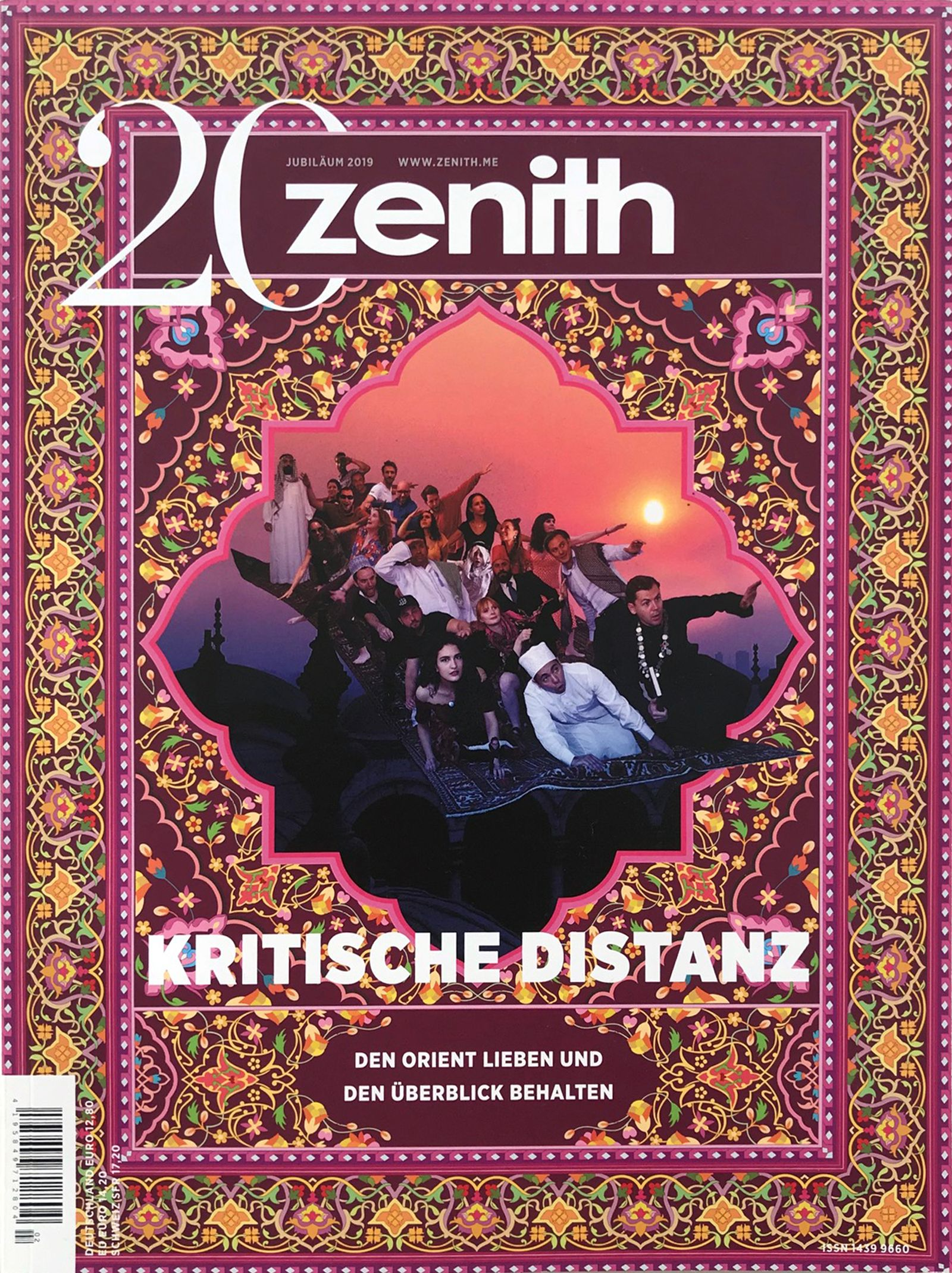 Zenith Magazin/ Jubilaeum COVER