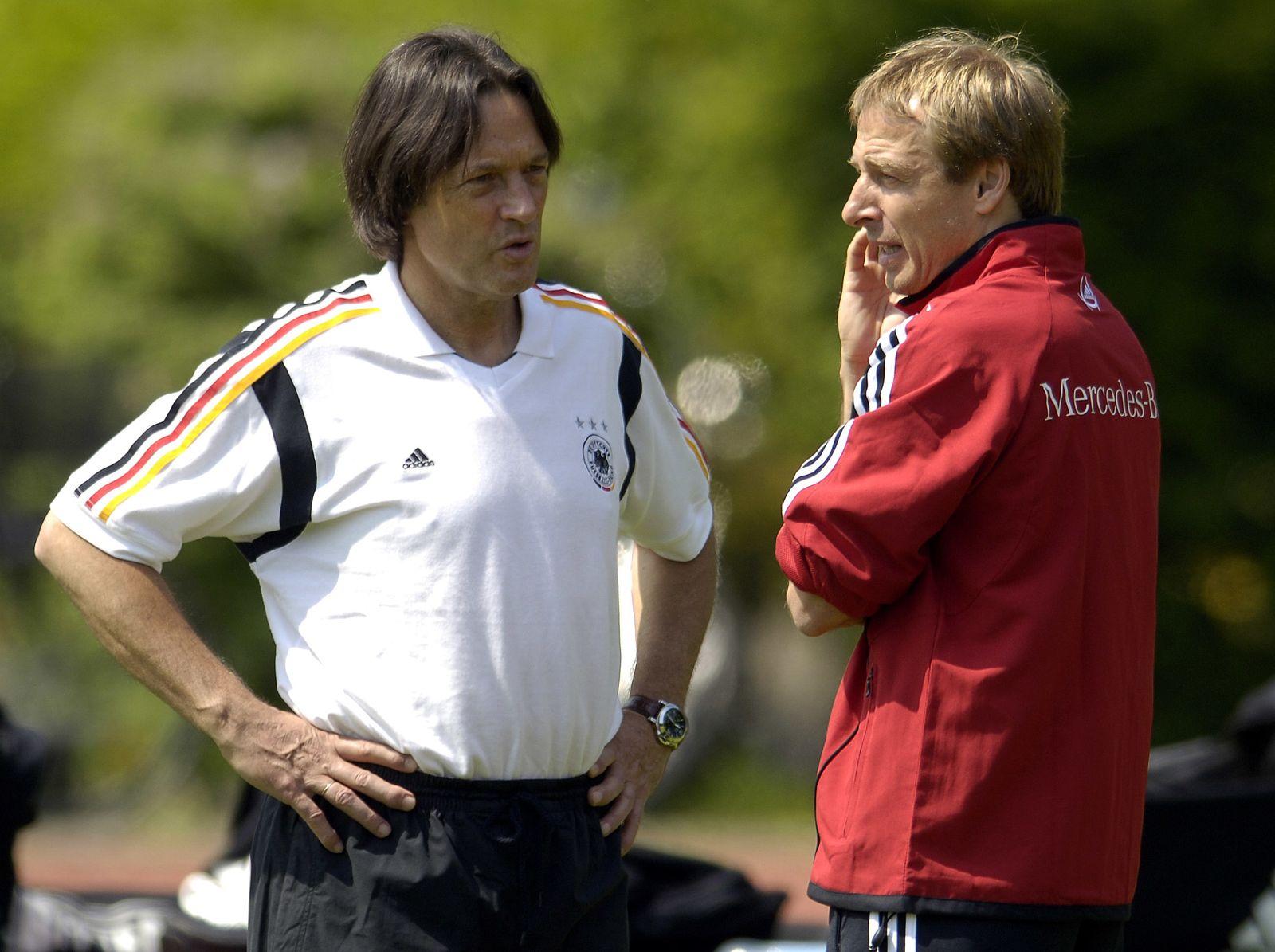 Training Nationalmannschaft - Klinsmann Müller-Wohlfahrt