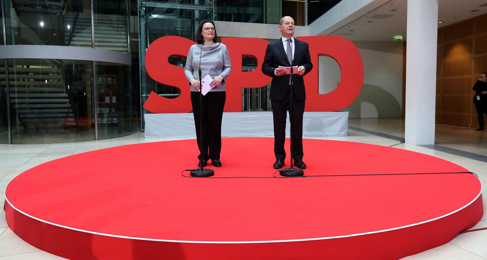 Nahles Scholz SPD