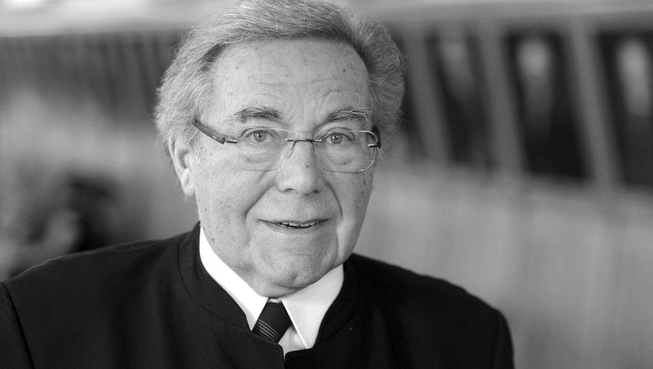 Peter Schreier 2013 in Sachsen: Gastspiele in allen wichtigen Opernhäusern der Welt