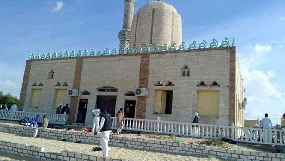 Der Tatort: Eine Moschee auf dem Sinai