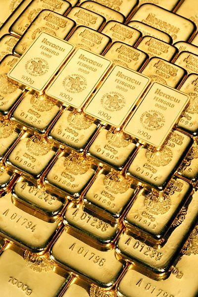 Goldbarren: Anleger sind seit Monaten im Edelmetallrausch