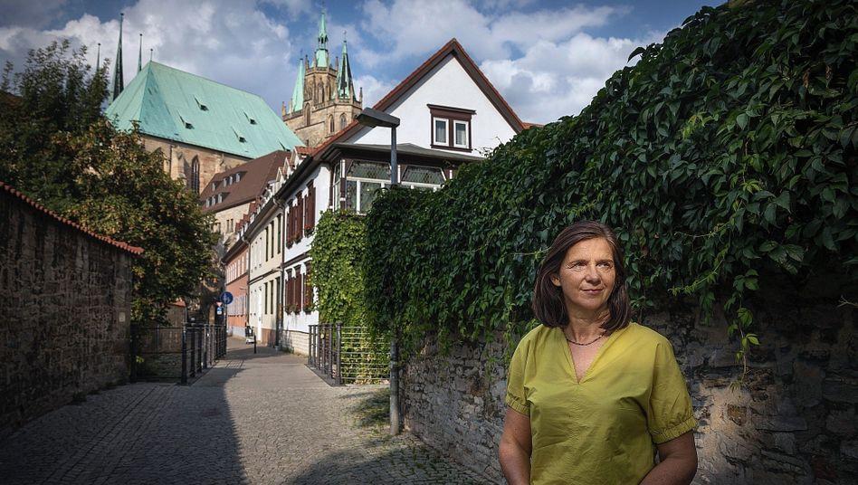 """Politikerin Göring-Eckardt in Erfurt:""""Verzweiflung, aber auch Kraft und Zuversicht"""""""