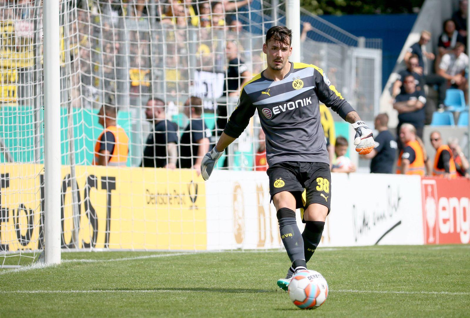 EINMALIGE VERWENDUNG Roman Bürki/ Borussia Dortmund
