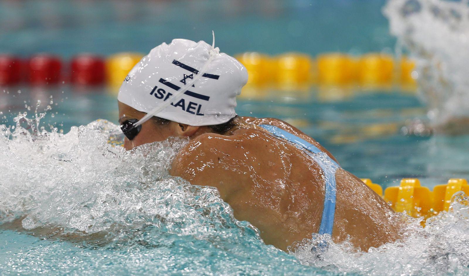 Israel Schwimmen keine Siegerehrung