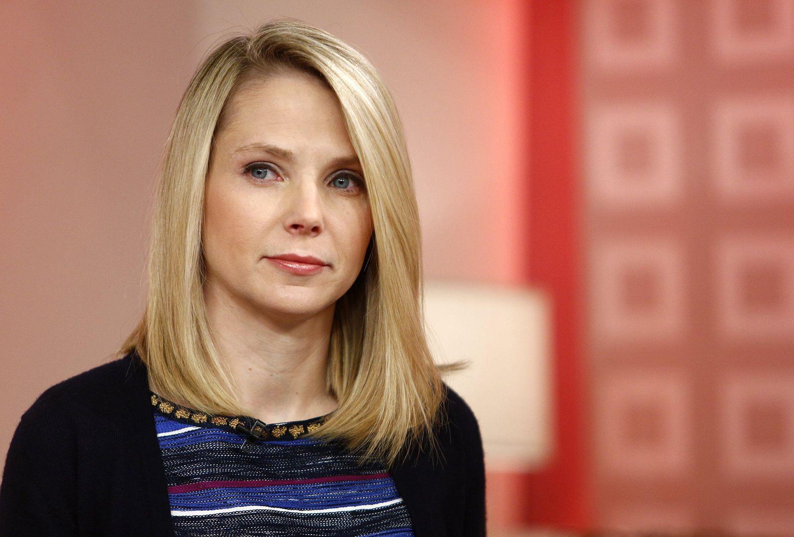 EINMALIGE VERWENDUNG Yahoo / Marissa Mayer