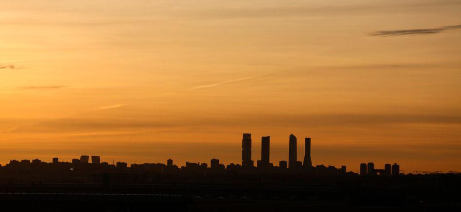 """Finanzdistrikt """"Cuatro Torres"""" in Madrid: Mit Konjunkturpaket gegen die Rezession"""