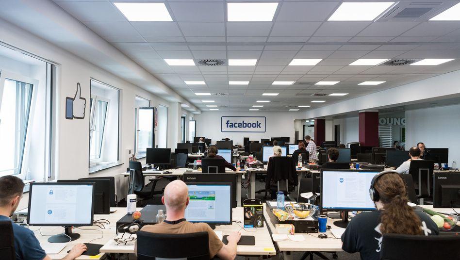 Facebook-Löschzentrum bei Arvato in Berlin