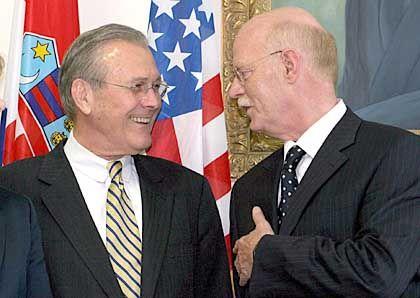 """Rumsfeld, Struck (Archiv): """"Don"""" lässt Duzfreund Peter abblitzen"""