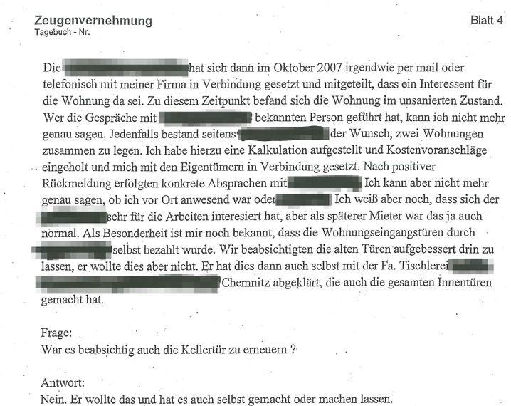 """NSU-Trio auf Wohnungssuche: """"Wunsch, zwei Wohnungen zusammen zu legen"""""""