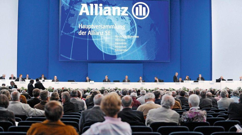 Allianz-Hauptversammlung 2010 in München: »Es fehlt die Magie der großen Zahlen«