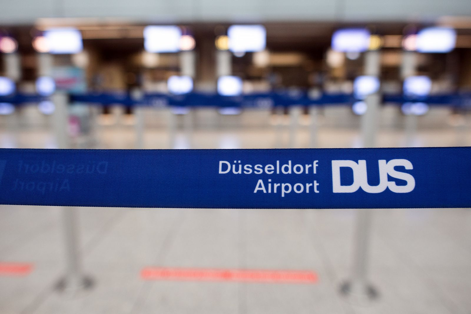 Coronavirus - Flughafen Düsseldorf