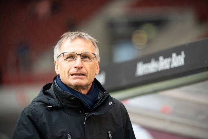 """Schalkes Technischer Direktor Michael Reschke, der """"Kaderplaner"""""""