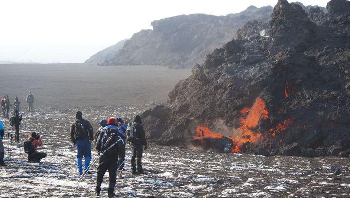 Island: Lava-Tourismus am Vulkan