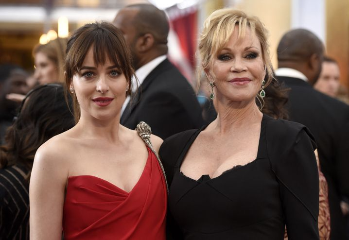 Tochter Dakota Johnson, Mutter Melanie Griffith: Familienfeier bei den Oscars
