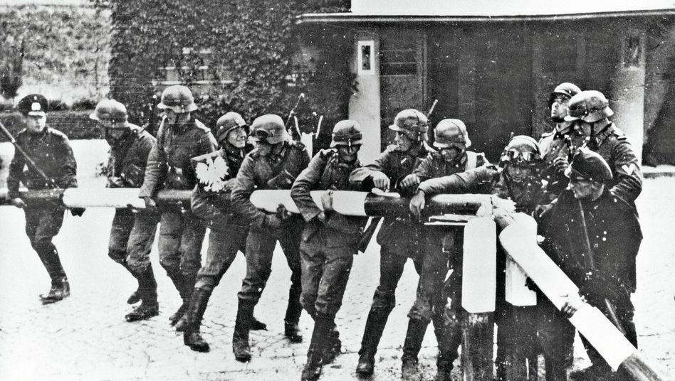 Deutsche Soldaten zu Beginn des Polenfeldzugs 1939:Zuverlässiges Propagandainstrument der Obrigkeit