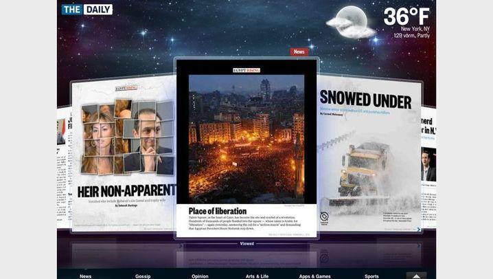 "iPad-Zeitung: So sieht ""The Daily"" aus"