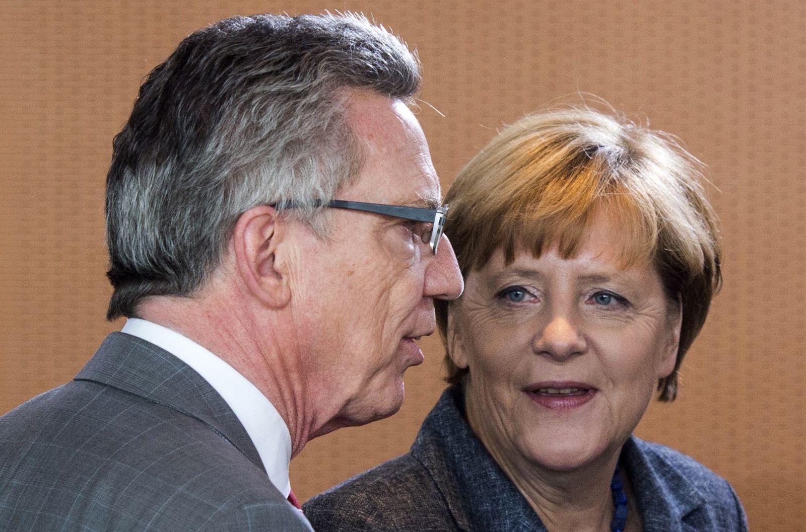 Merkel de Maiziere