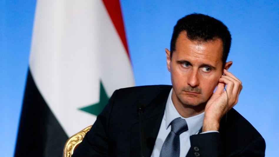Präsident Assad (Archivbild): Größte Bestände an einsatzbereiten Giftgasen