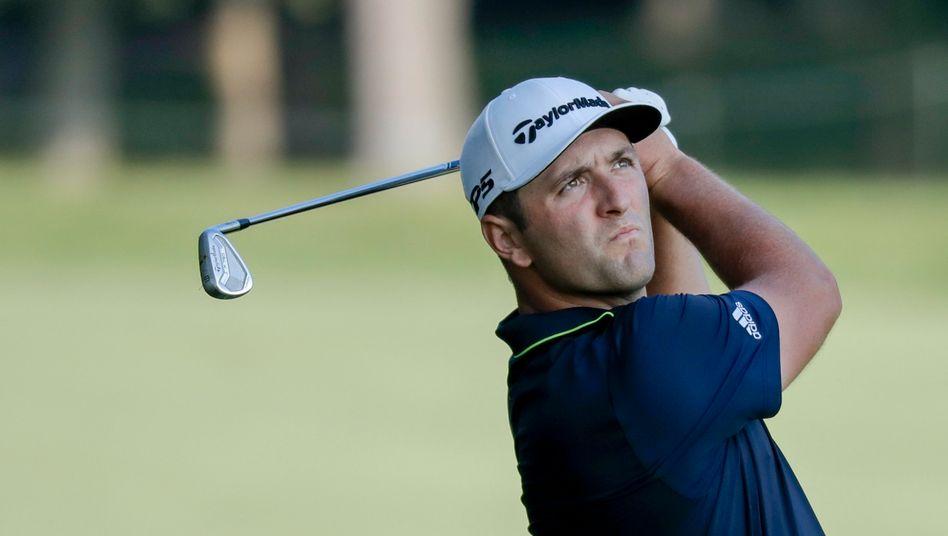 Jon Rahm ist der neue Weltranglistenerste im Golf