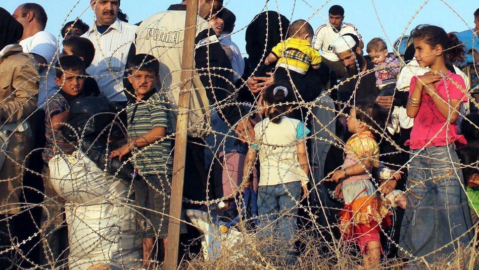 Syrische Flüchtlinge in der Türkei: 45 Millionen Menschen sind auf der Flucht