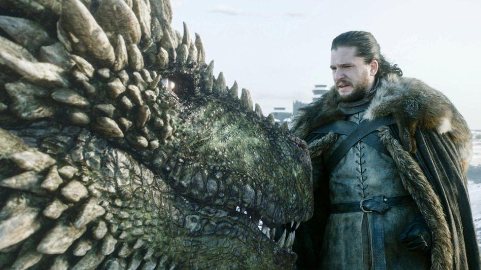 """Kit Harington in """"Game of Thrones"""": meistprämierte Serie der US-Fernsehgeschichte"""