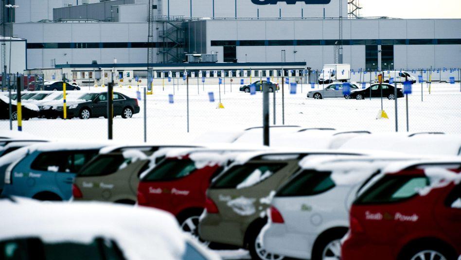 Saab-Fabrik in Trollhattan: General Motors will den Autohersteller loswerden