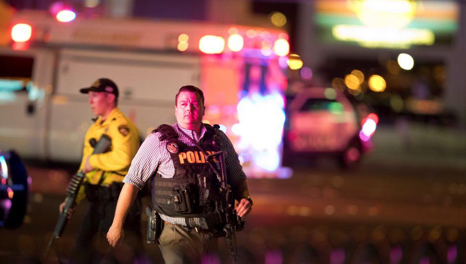 Polizisten in Las Vegas