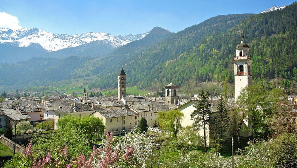 Puschlaver-Tal in der Schweiz: Pizza, Palmen, Piz Palü
